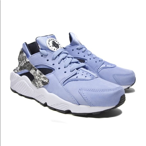 Baby Blue Suedette Nike Huaraches Mens